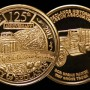 Redlands 125th Anniversary Commemorative Medal - Silver And Bronze Set
