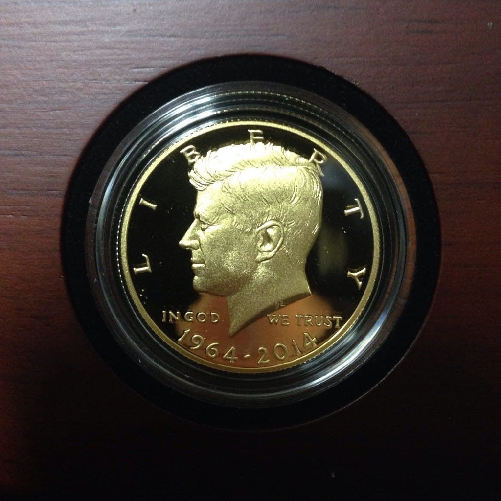 We Have The New Kennedy Gold Commemorative Proof Coops